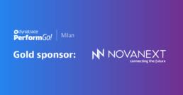 NovaNext è Gold Sponsor al Dynatrace PerformGo Milano, NovaNext è Gold Sponsor al Dynatrace PerformGo del 22 ottobre a Milano!