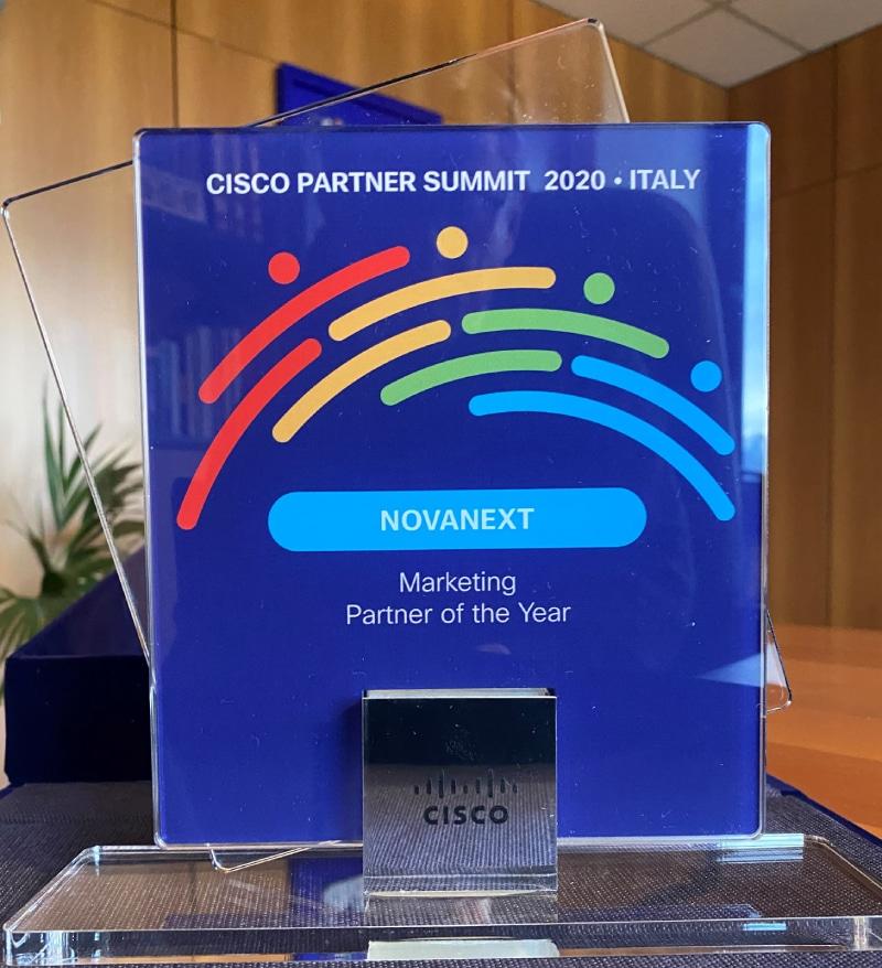 NovaNext Cisco Marketing Partner of the Year 2020