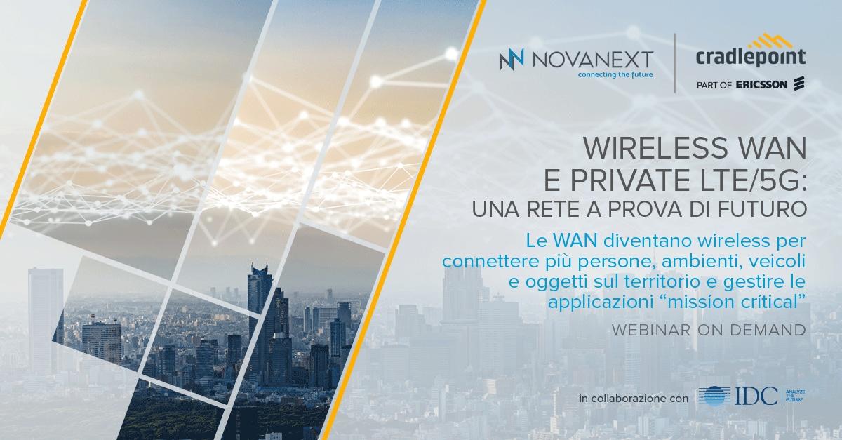 Wireless WAN e Private LTE/5G: una rete a prova di futuro