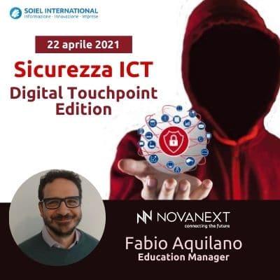 NovaNext Training partecipa all'evento Sicurezza ICT di Soiel International
