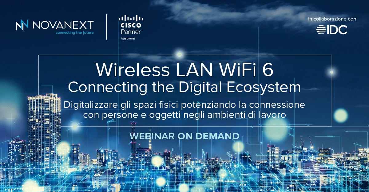 Wireless LAN WiFi 6: Connecting the Digital Ecosystem