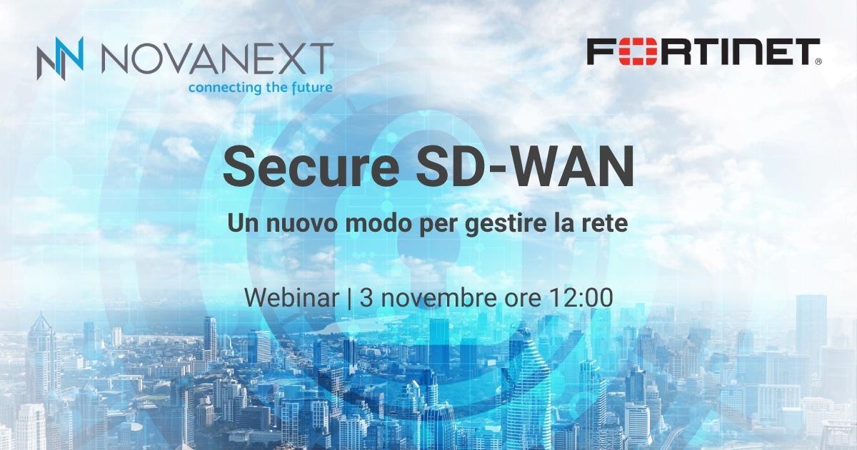 Webinar Secure SD-WAN